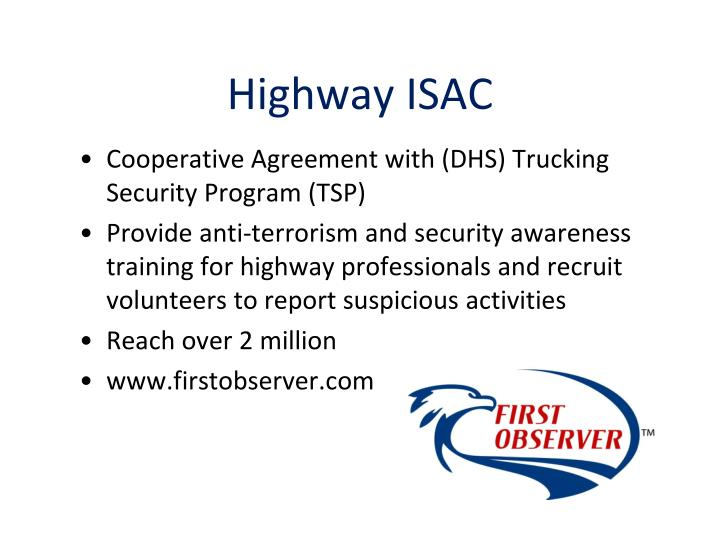 Highway ISAC