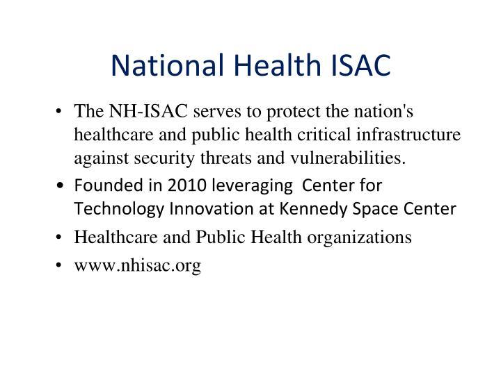 National Health ISAC