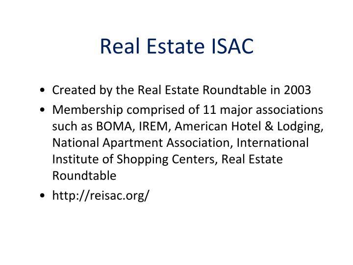 Real Estate ISAC