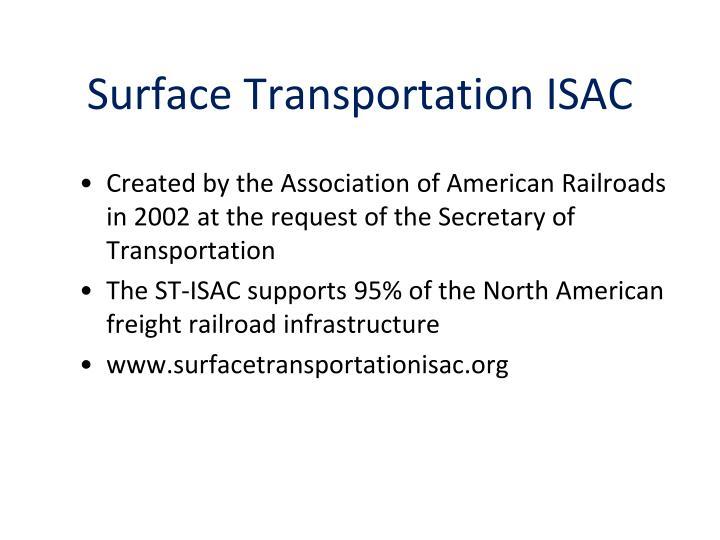Surface Transportation ISAC