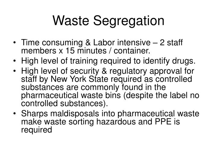 Waste Segregation