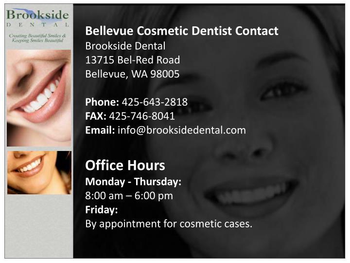 Bellevue Cosmetic Dentist Contact