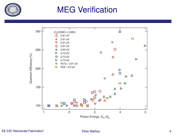 MEG Verification