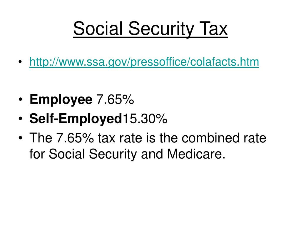Social Security Tax