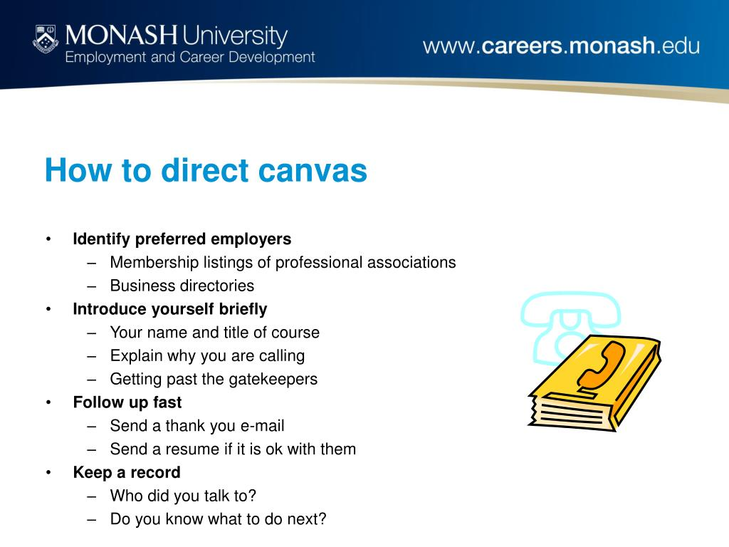 How to direct canvas