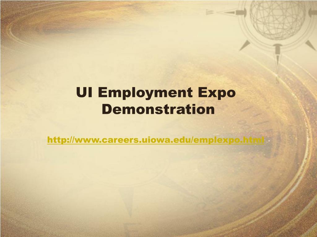 UI Employment Expo