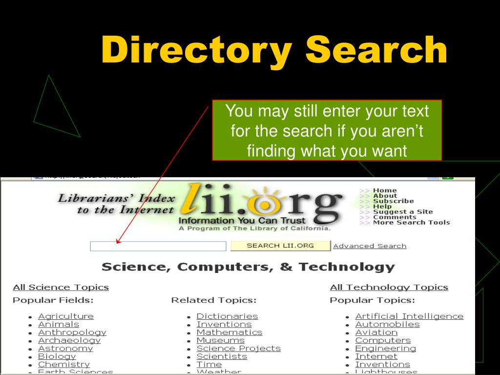 Directory Search