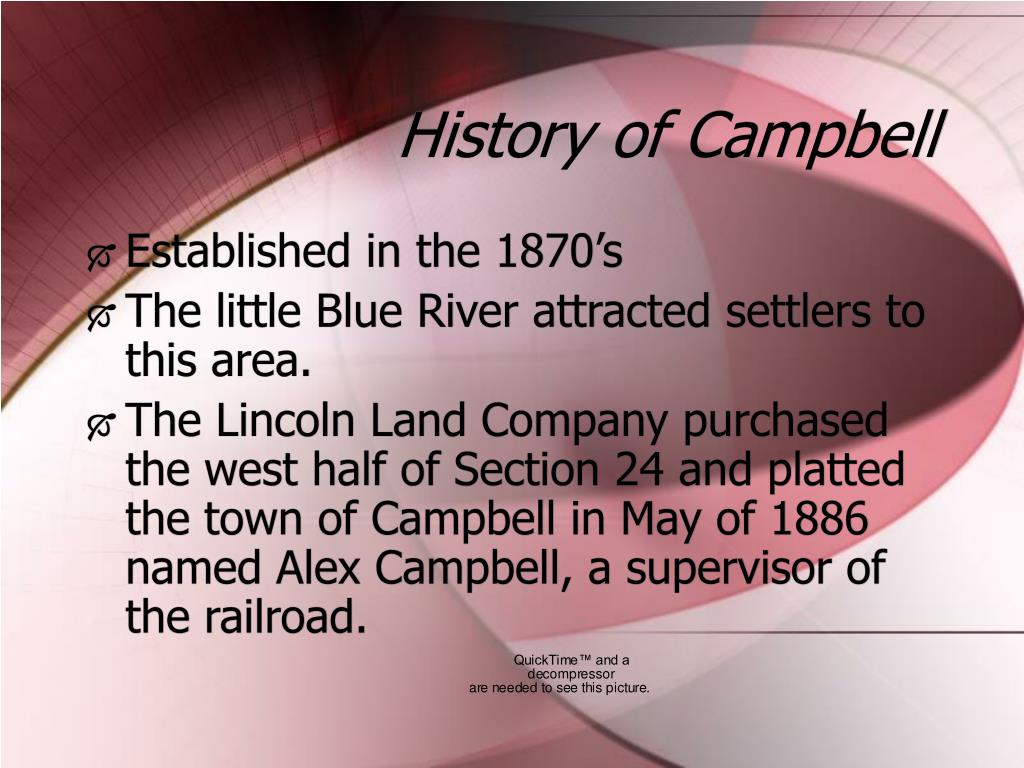 History of Campbell
