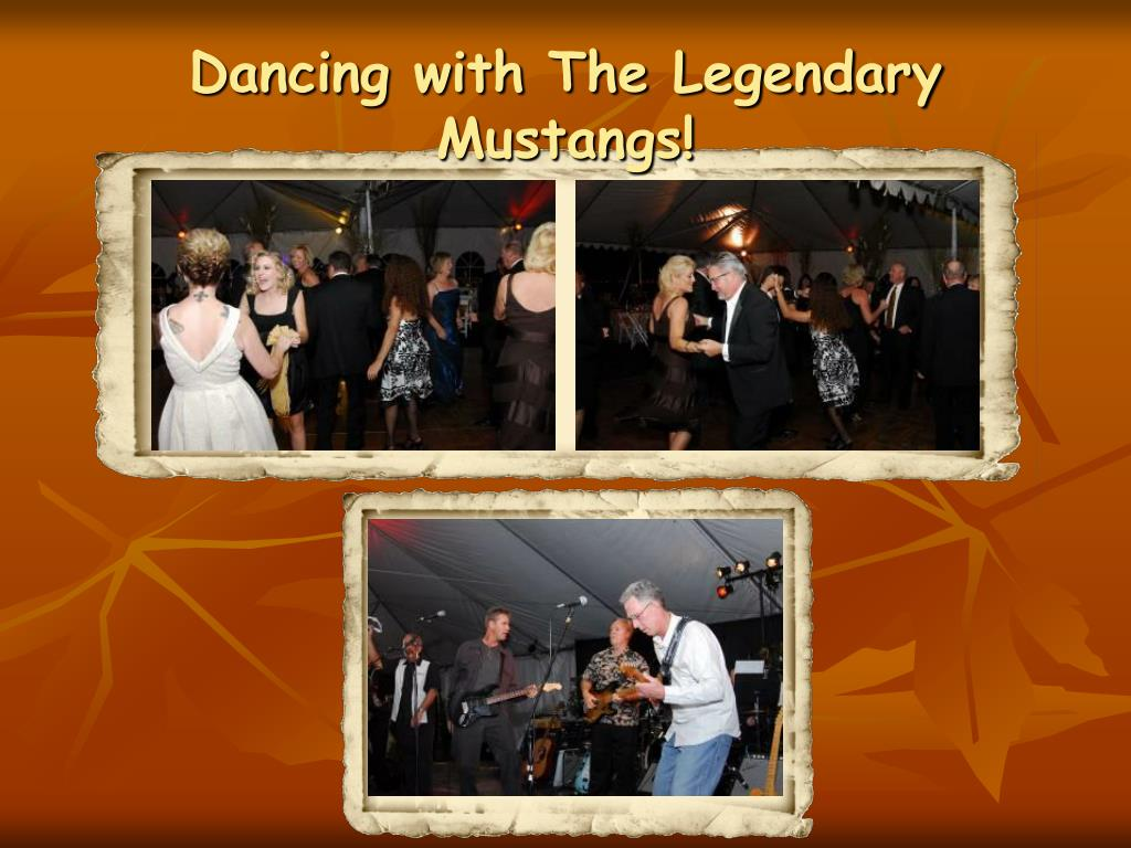 Dancing with The Legendary Mustangs!
