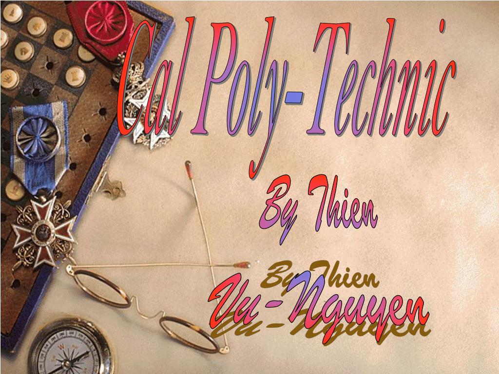 Cal Poly-Technic