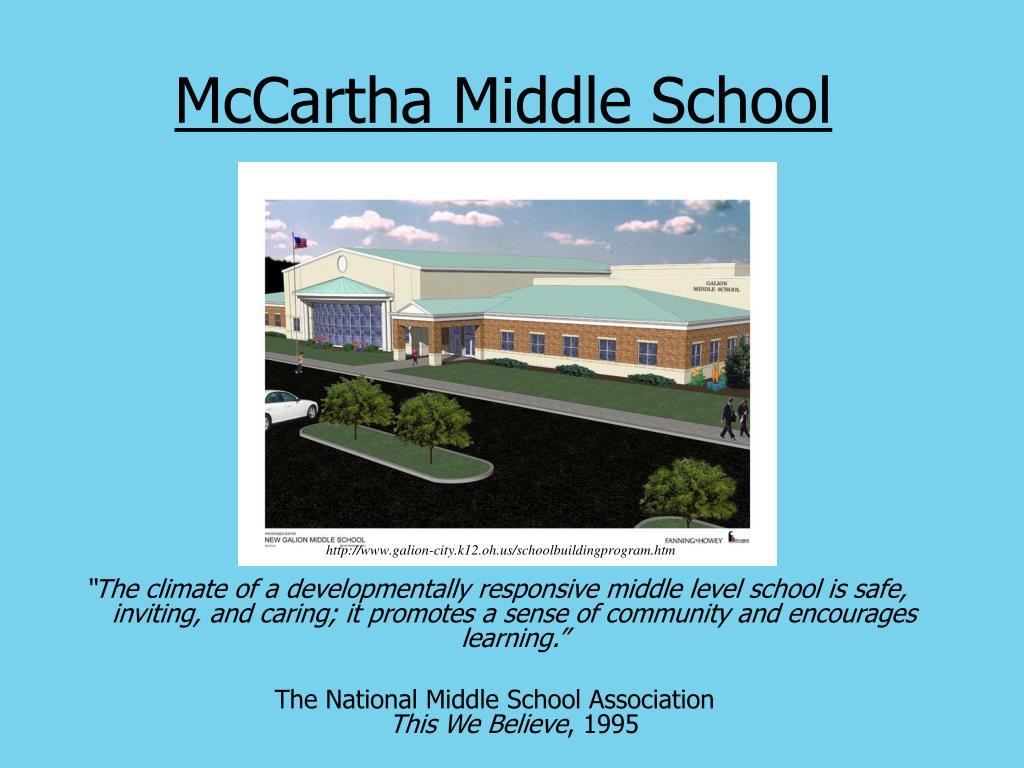 McCartha Middle School