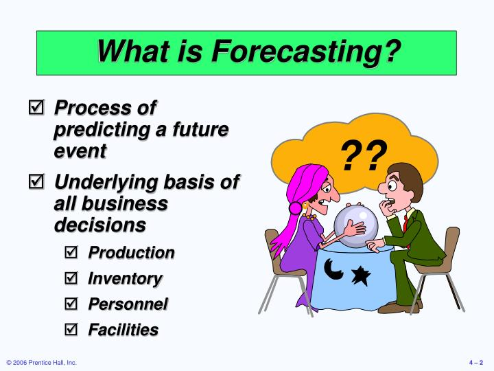 What is forecasting
