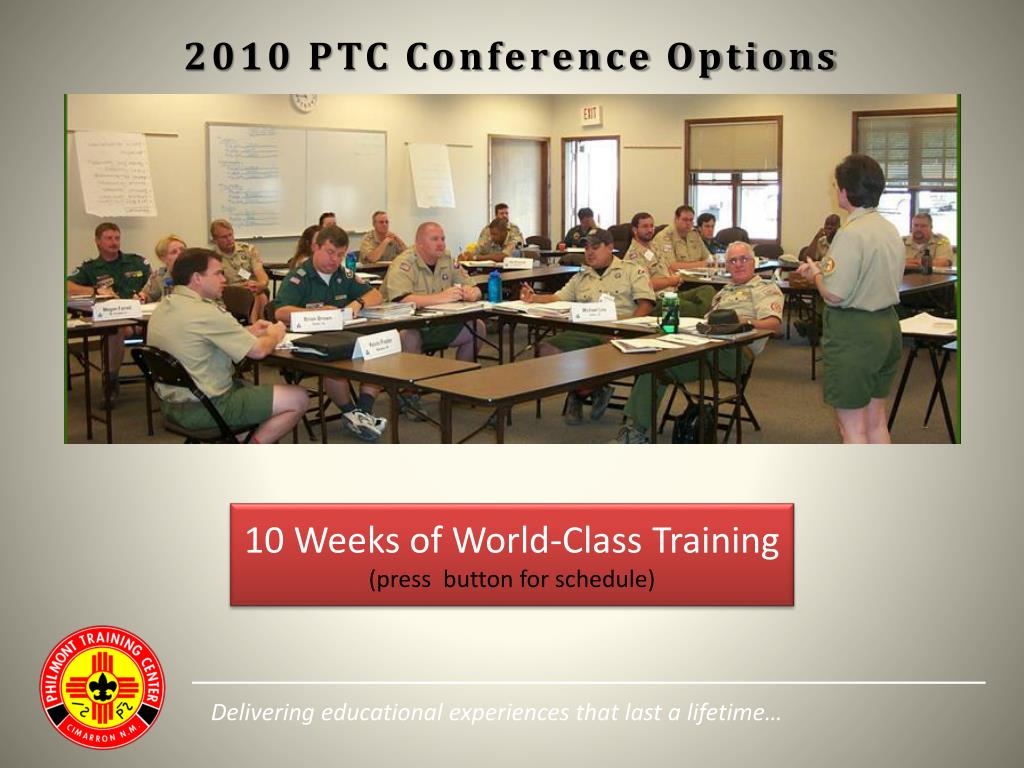 2010 PTC Conference Options