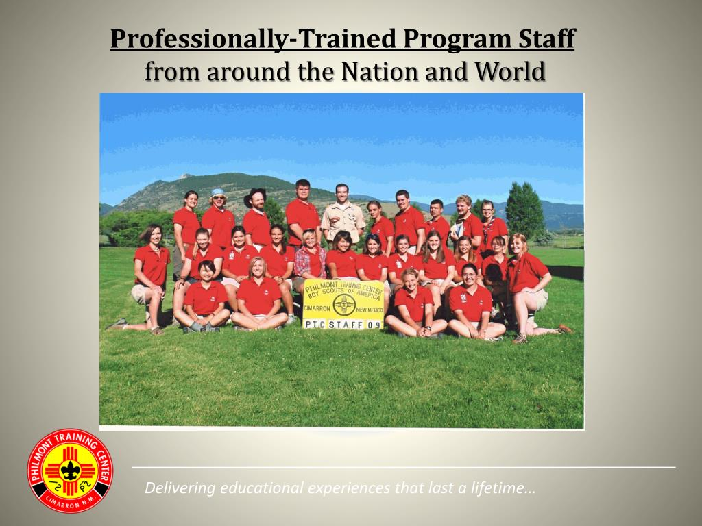 Professionally-Trained Program Staff
