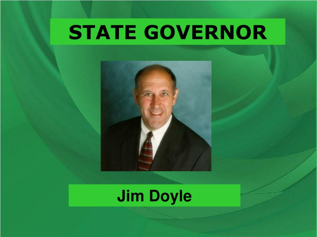 STATE GOVERNOR
