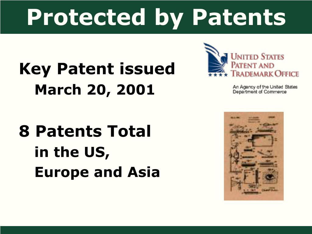 Protected by Patents
