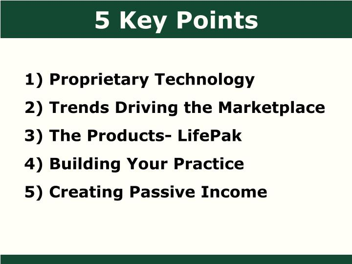 5 Key Points