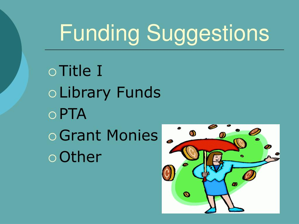 Funding Suggestions