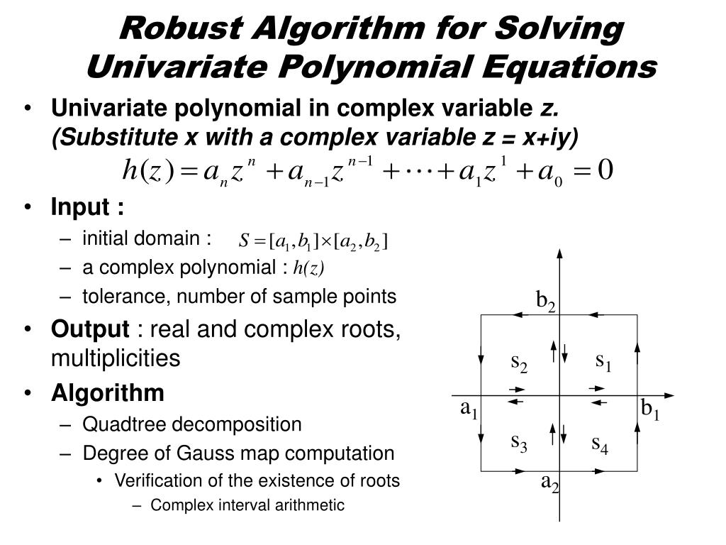 Robust Algorithm for Solving  Univariate Polynomial Equations