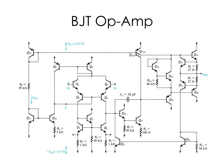 ppt - 741 op-amp circuit powerpoint presentation