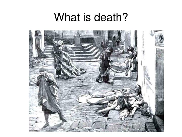 What is death?
