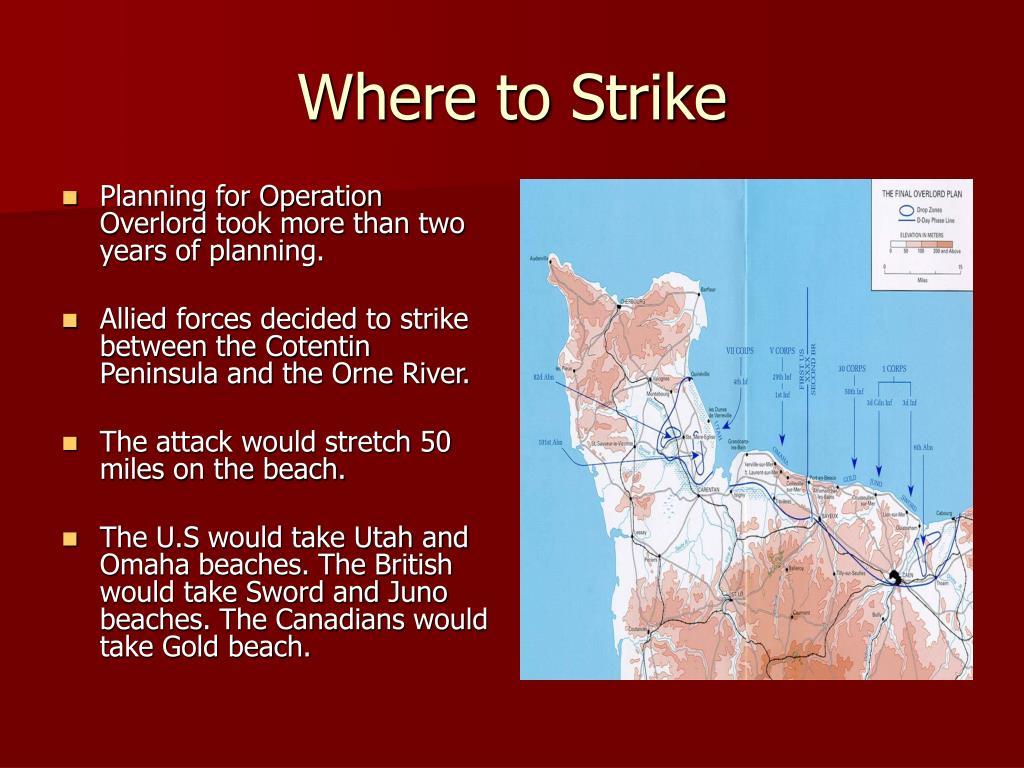 Where to Strike