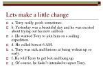 lets make a little change