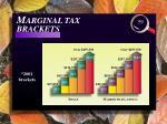 m arginal tax brackets