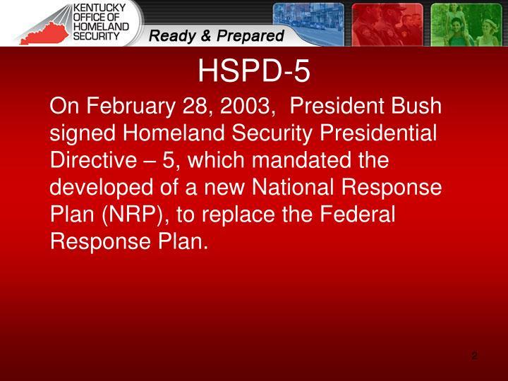 HSPD-5
