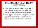 charitable lead trust continued12