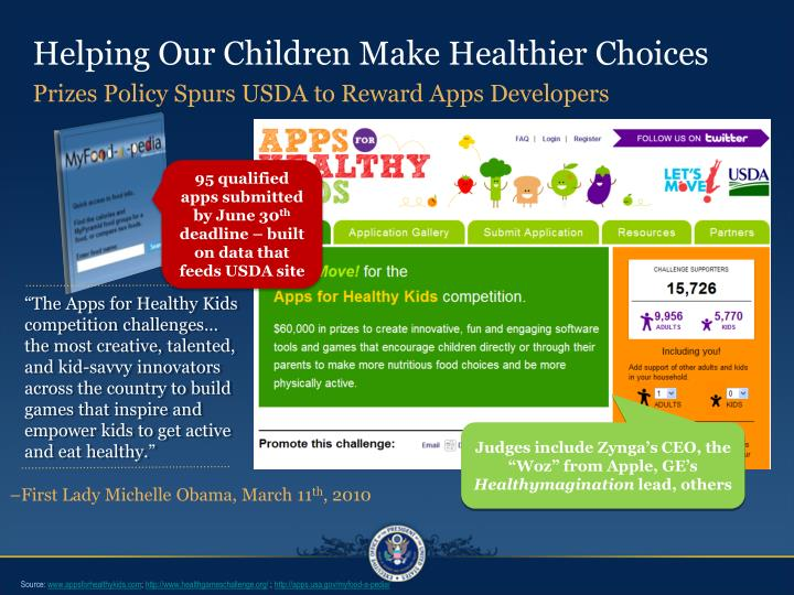 Helping Our Children Make Healthier Choices