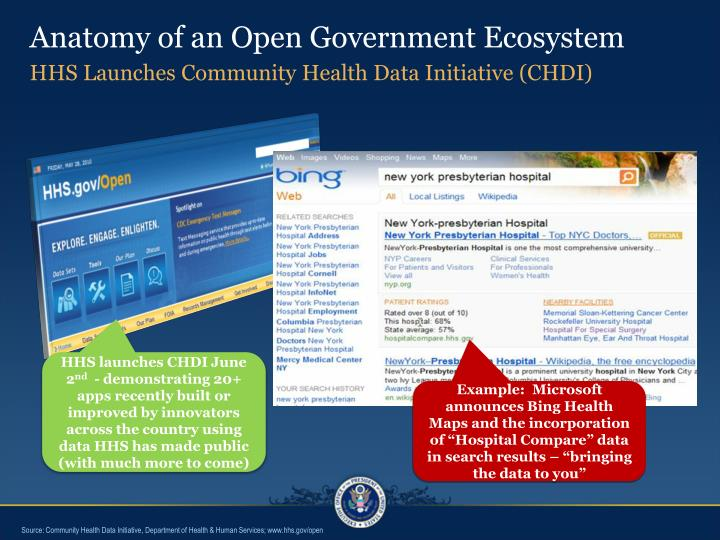 Anatomy of an Open Government Ecosystem