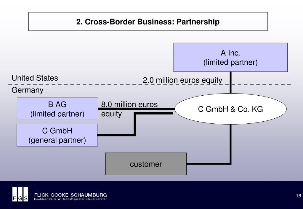 2. Cross-Border Business: Partnership