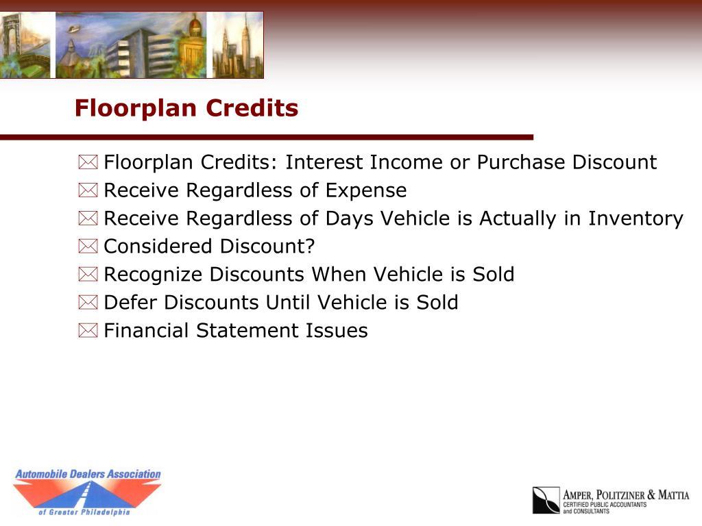 Floorplan Credits