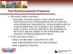 tool reimbursement programs27