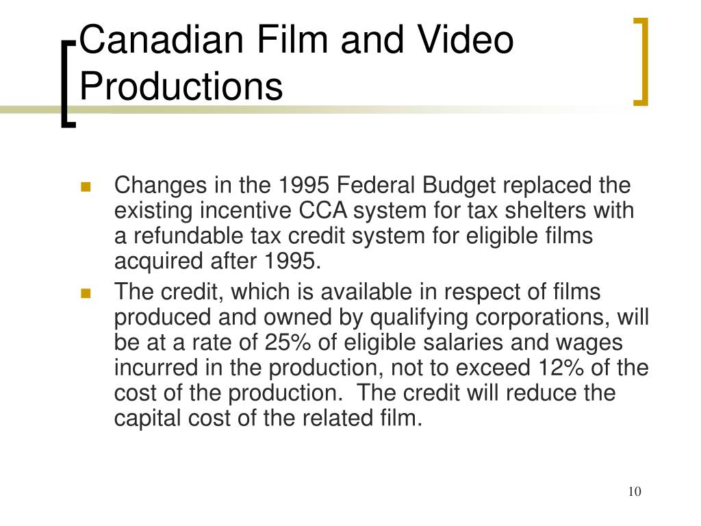 Canadian Film and Video Productions