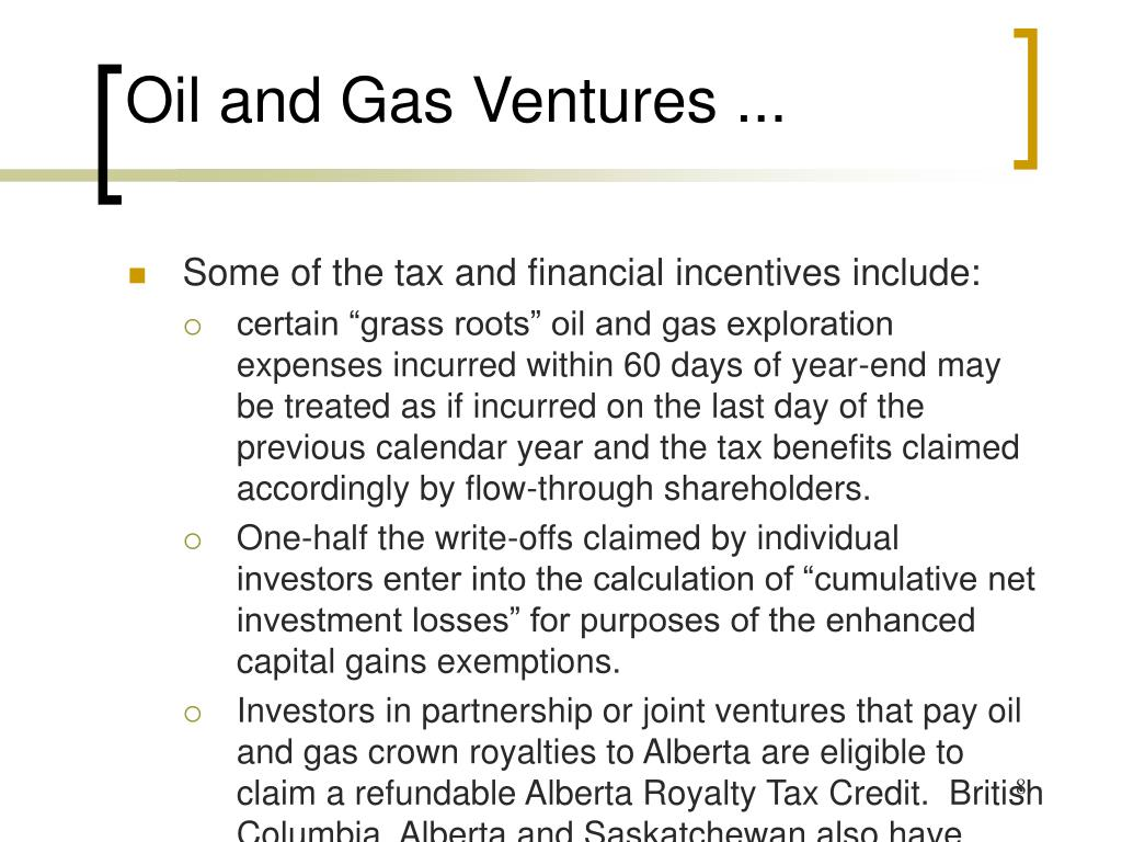 Oil and Gas Ventures ...