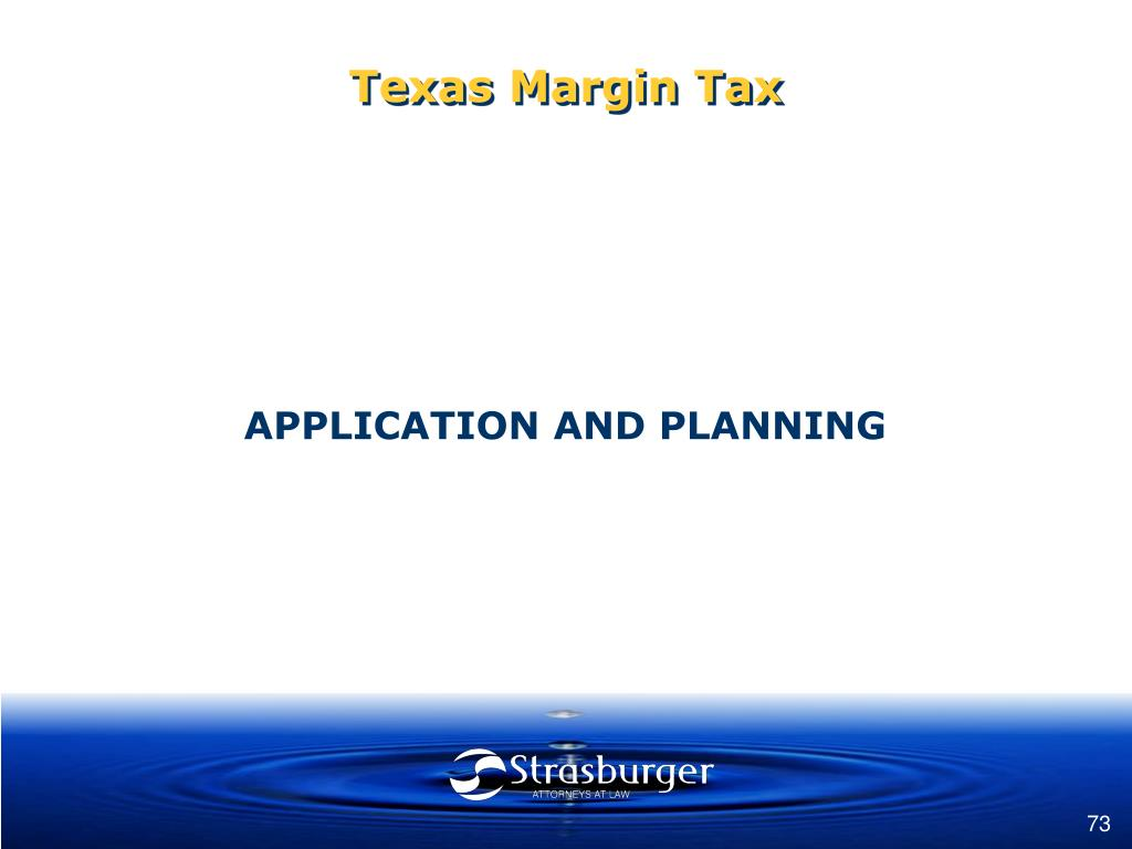 Texas Margin Tax