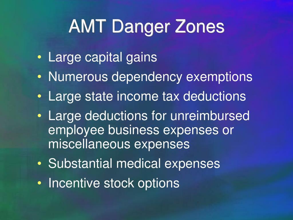 AMT Danger Zones