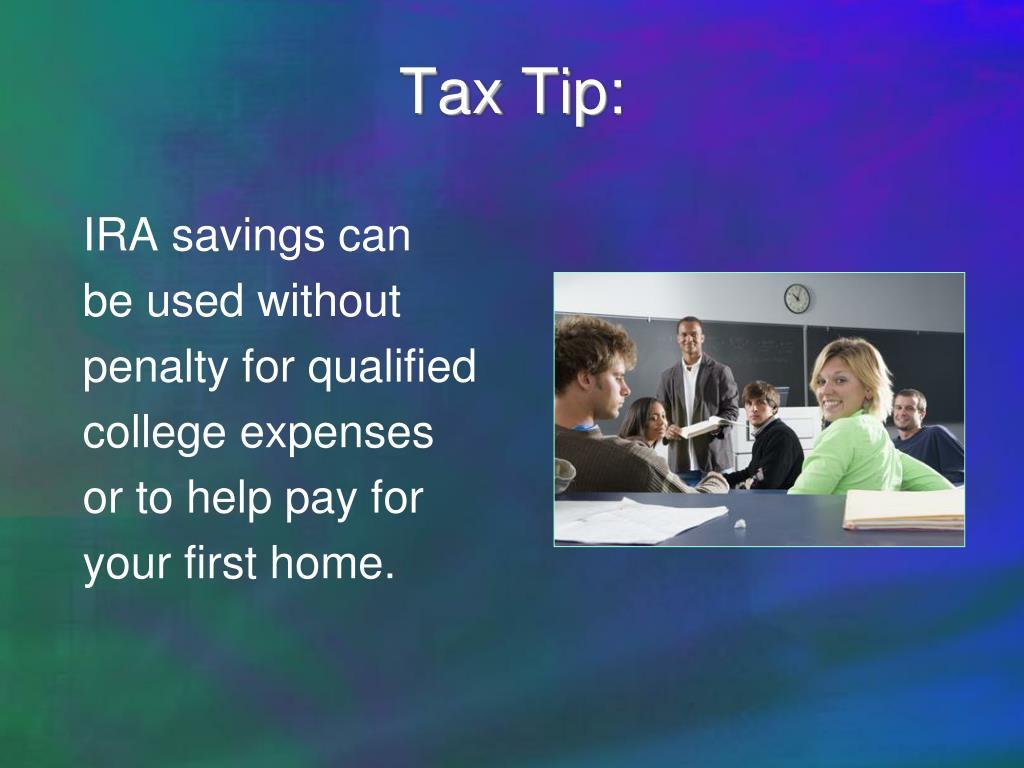 Tax Tip: