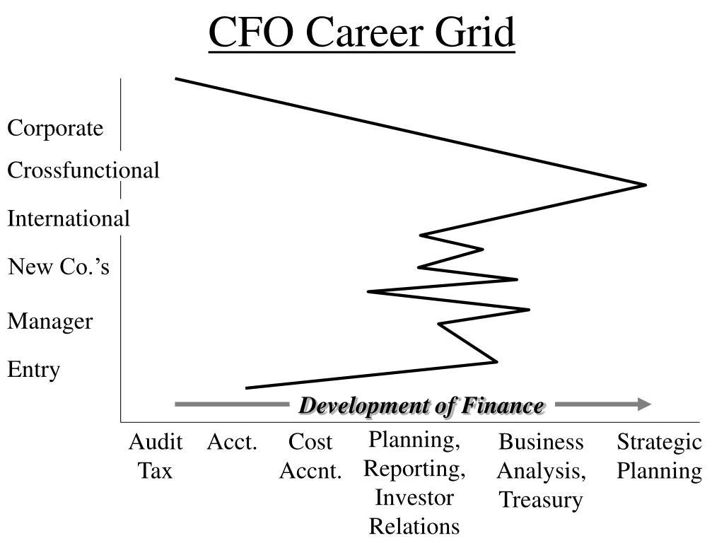 CFO Career Grid