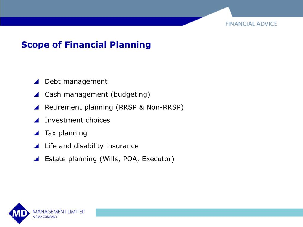 Scope of Financial Planning