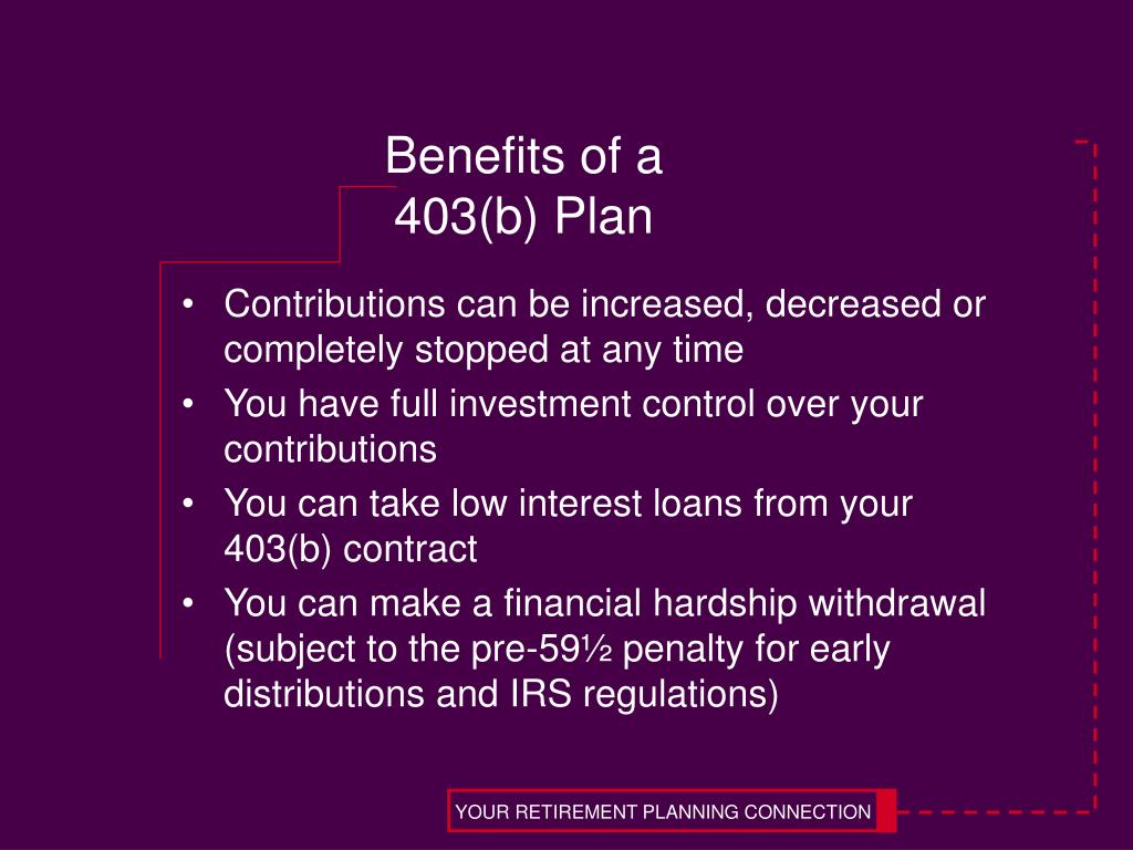 YOUR RETIREMENT PLANNING CONNECTION
