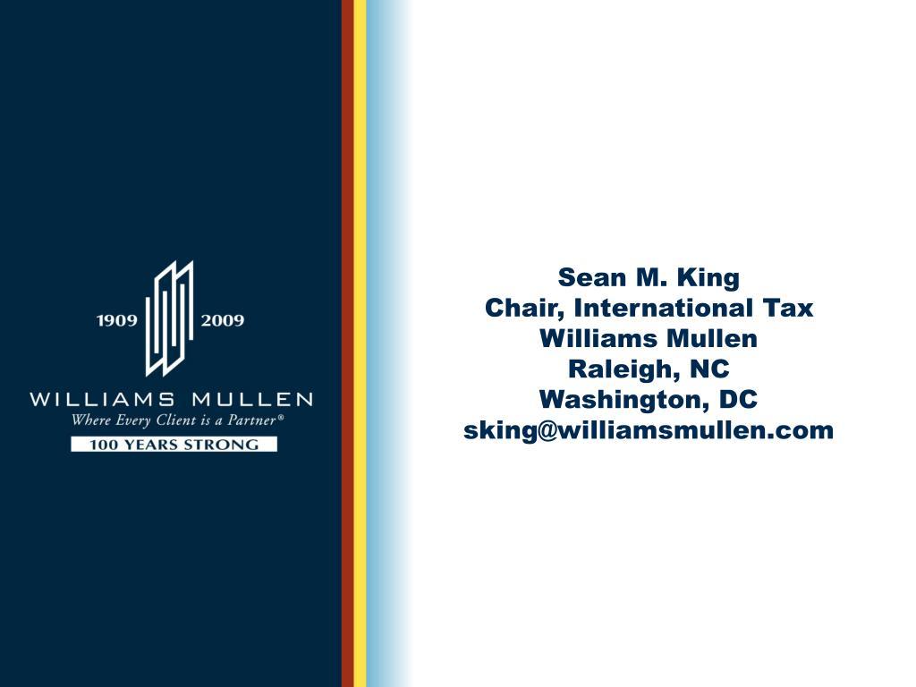 Sean M. King