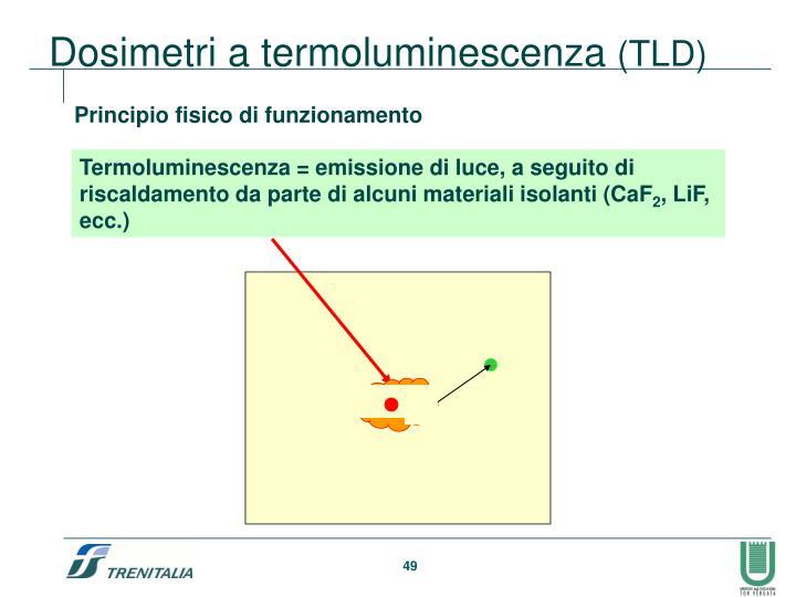 Dosimetri a termoluminescenza