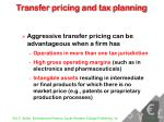 transfer pricing and tax planning26