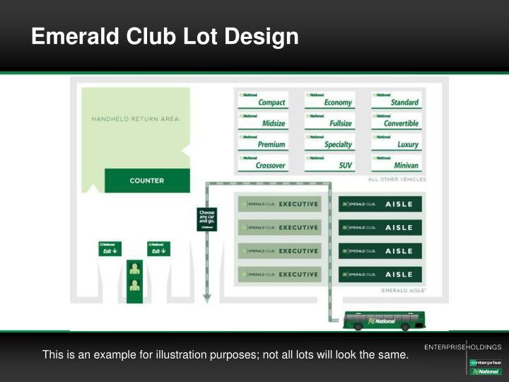 Emerald Club Lot Design