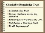 charitable remainder trust26