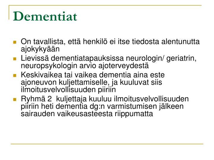 Dementiat