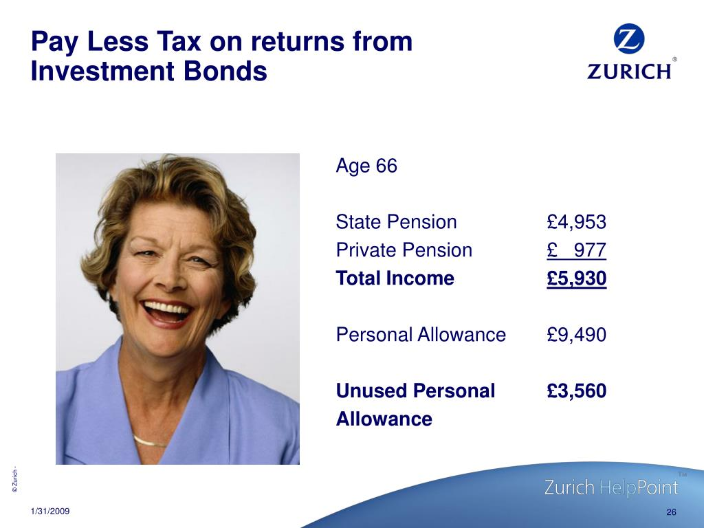 Pay Less Tax on returns from Investment Bonds